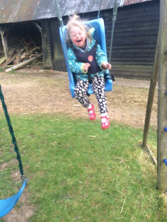 Me swing!
